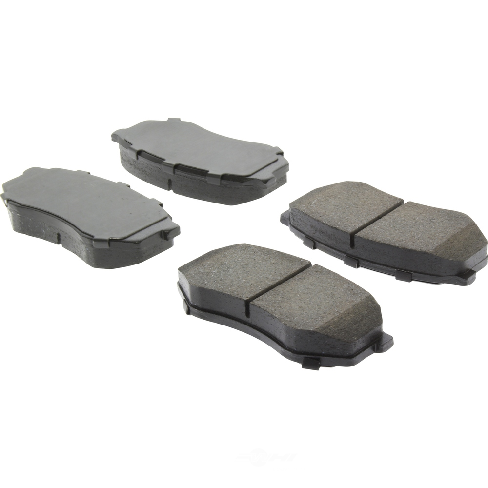 CENTRIC FLEET PERFORMANCE - Centric Fleet Performance Pads w/Hardware (Front) - CEF 306.04330