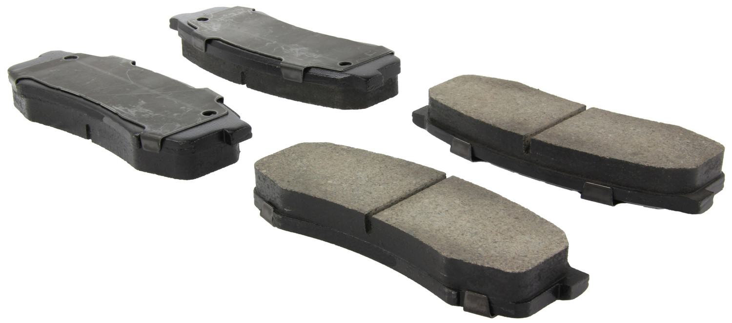 CENTRIC FLEET PERFORMANCE - Centric Fleet Performance Pads w/Hardware (Rear) - CEF 306.06060