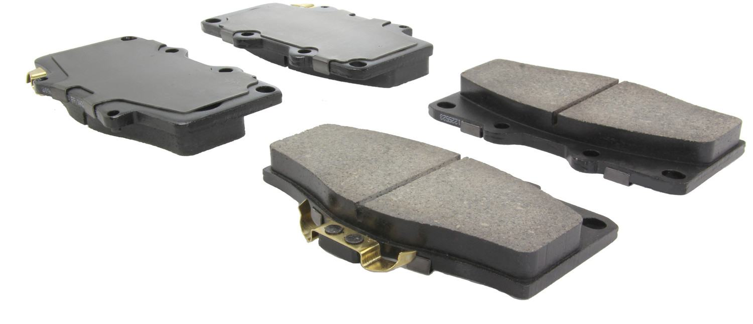 CENTRIC FLEET PERFORMANCE - Centric Fleet Performance Pads W/hardware - CEF 306.06110