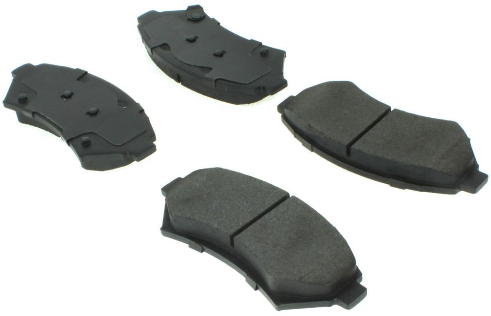 CENTRIC FLEET PERFORMANCE - Centric Fleet Performance Pads w/Hardware (Front) - CEF 306.06990