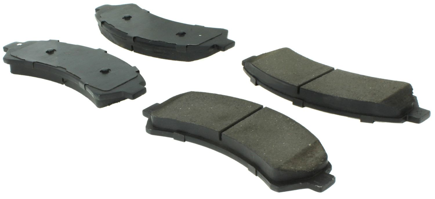 CENTRIC FLEET PERFORMANCE - Centric Fleet Performance Pads W/hardware - CEF 306.07260