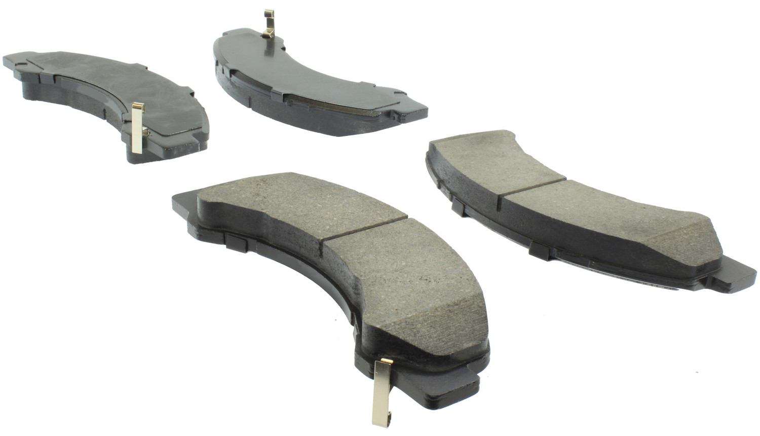 CENTRIC FLEET PERFORMANCE - Centric Fleet Performance Pads W/hardware - CEF 306.08250