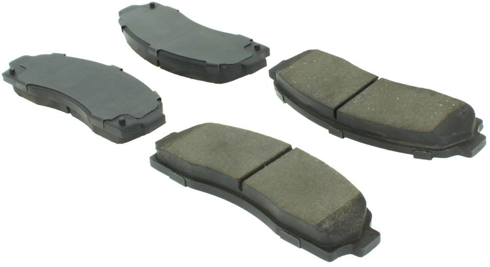 CENTRIC FLEET PERFORMANCE - Centric Fleet Performance Pads W/hardware - CEF 306.08330