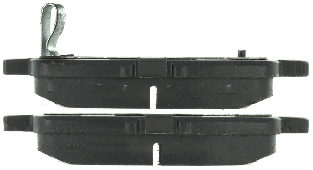 CENTRIC FLEET PERFORMANCE - Centric Fleet Performance Pads w/Hardware (Rear) - CEF 306.08650
