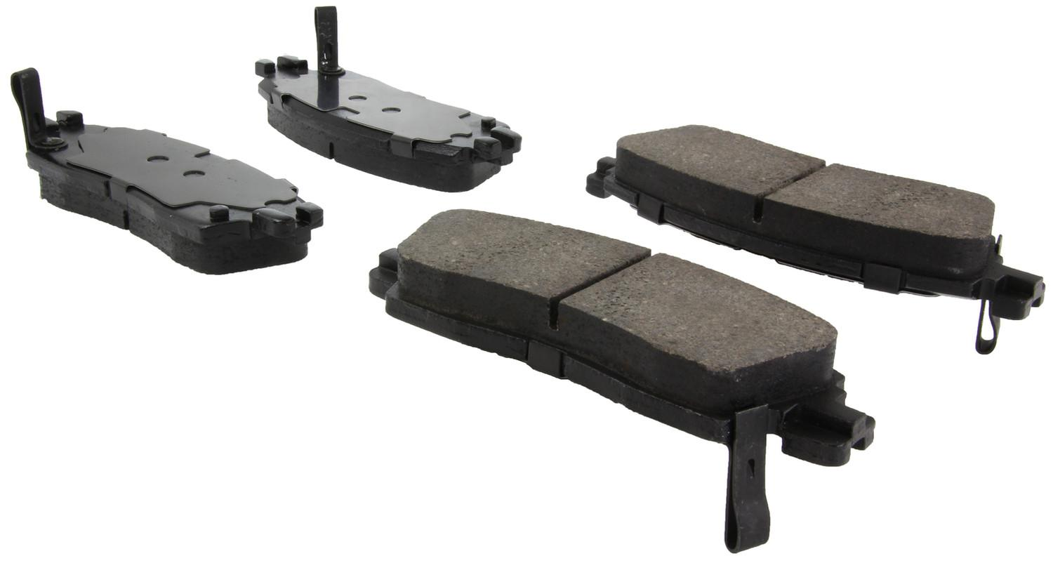 CENTRIC FLEET PERFORMANCE - Centric Fleet Performance Pads W/hardware - CEF 306.08830