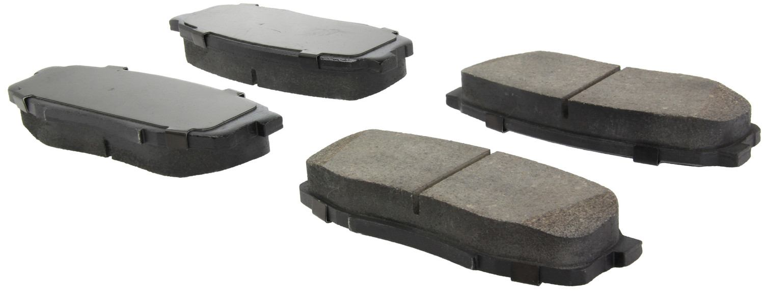 CENTRIC FLEET PERFORMANCE - Centric Fleet Performance Pads w/Hardware - CEF 306.13040