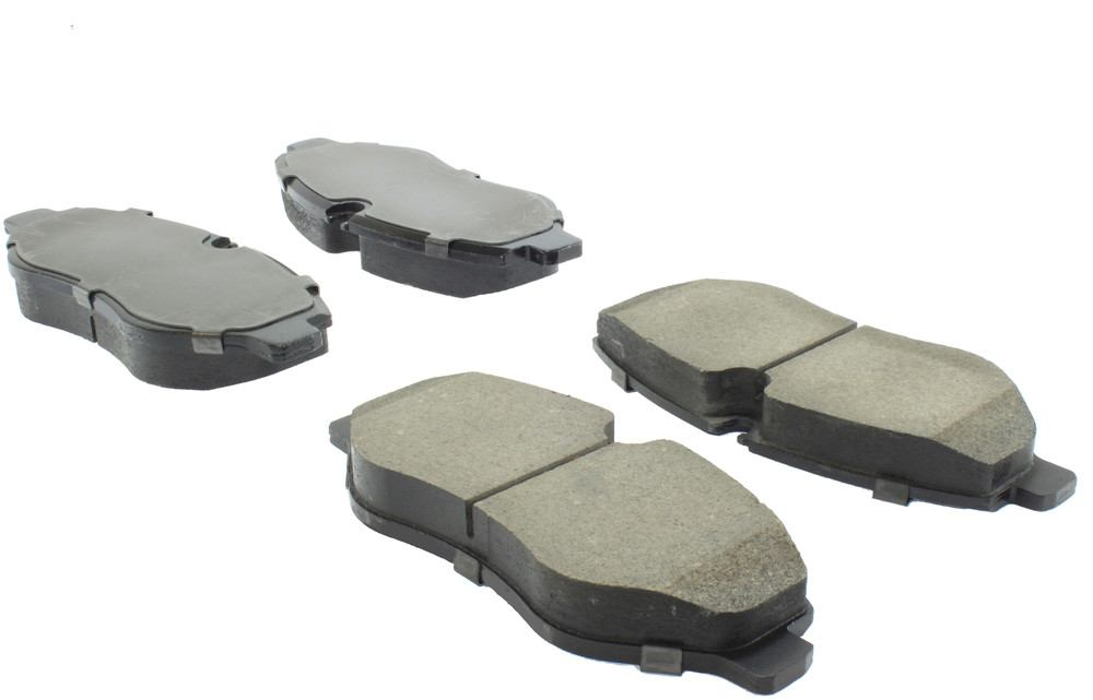 CENTRIC FLEET PERFORMANCE - Centric Fleet Performance Pads W/hardware - CEF 306.13160