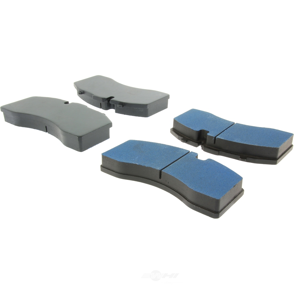 CENTRIC FLEET PERFORMANCE - Centric Fleet Performance Pads W/hardware - CEF 306.13690
