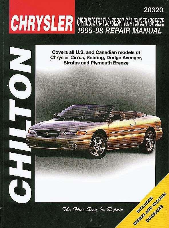 CHILTON BOOK COMPANY - Repair Manual - CHI 20320