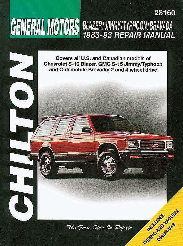 CHILTON BOOK COMPANY - Repair Manual - CHI 28160