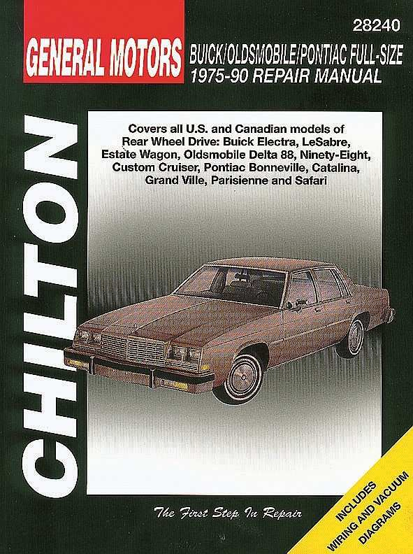CHILTON BOOK COMPANY - Repair Manual - CHI 28240