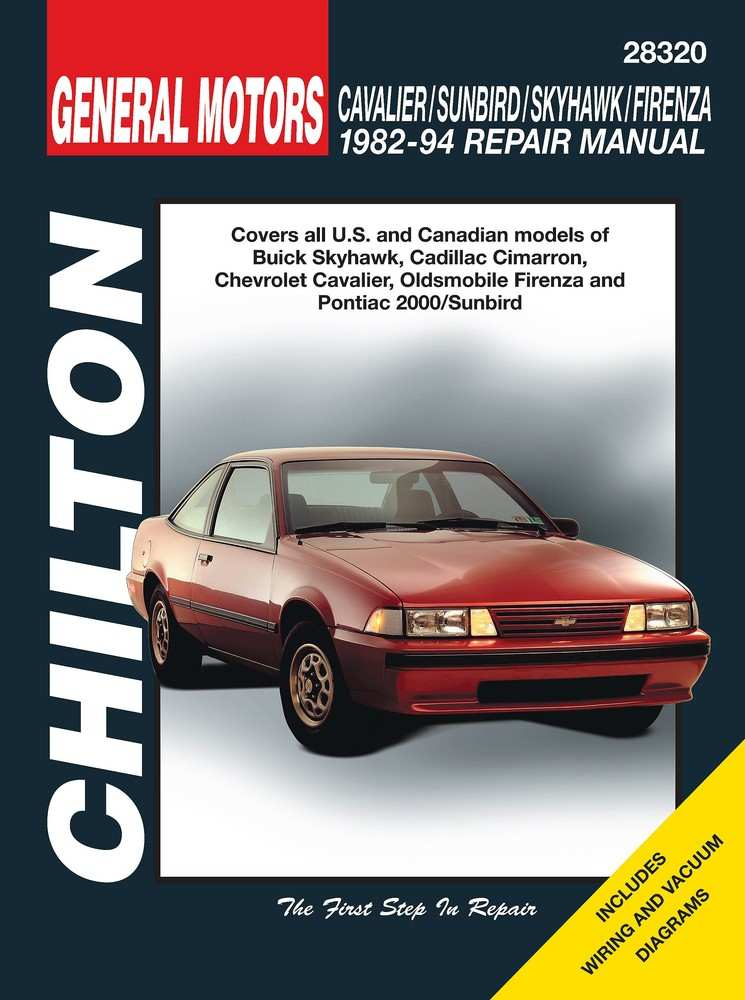 CHILTON BOOK COMPANY - Repair Manual - CHI 28320