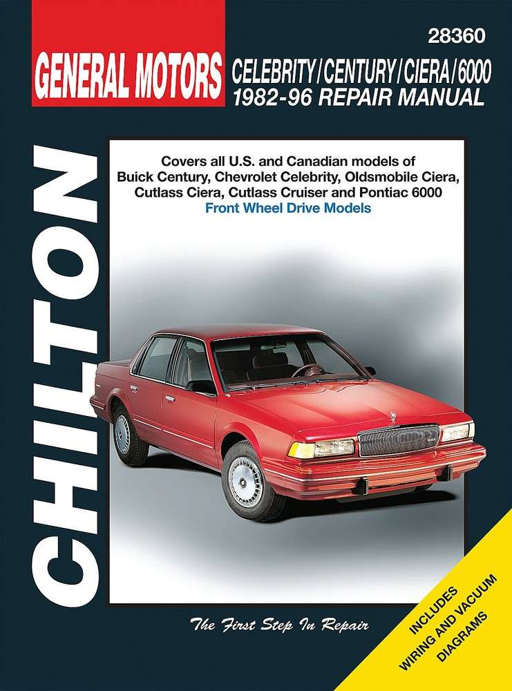 CHILTON BOOK COMPANY - Repair Manual - CHI 28360