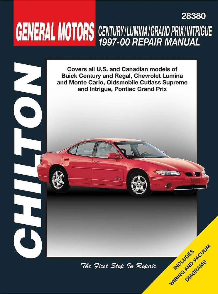CHILTON BOOK COMPANY - Repair Manual - CHI 28380