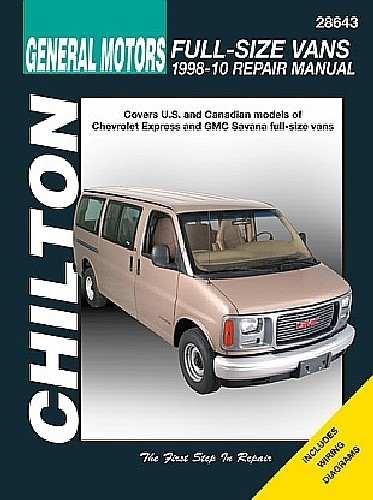 CHILTON BOOK COMPANY - Repair Manual - CHI 28643