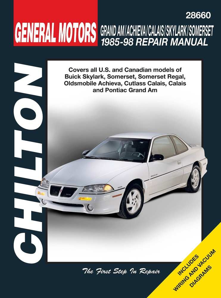 CHILTON BOOK COMPANY - Repair Manual - CHI 28660
