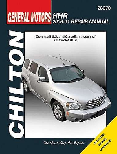 CHILTON BOOK COMPANY - Repair Manual - CHI 28670