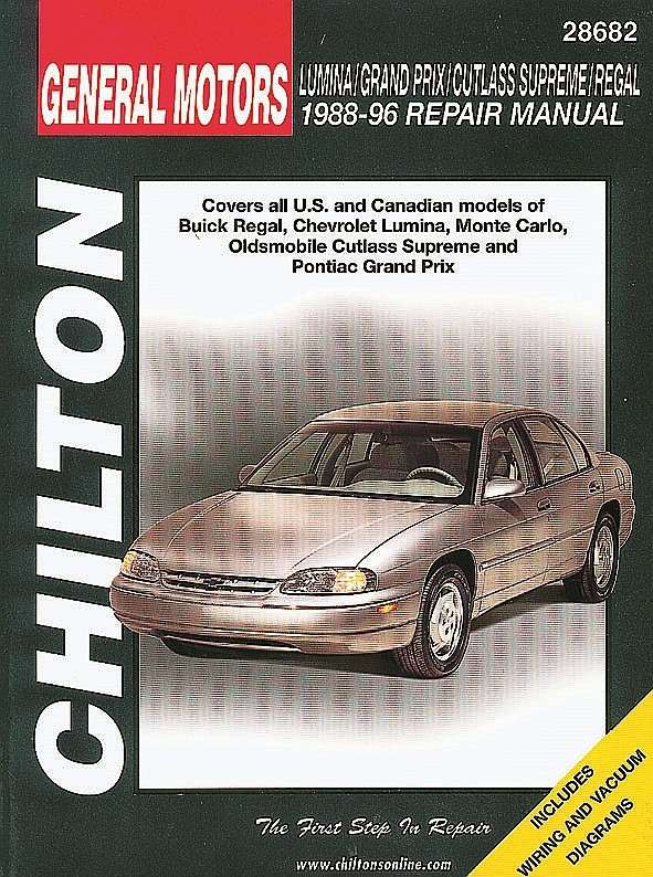 CHILTON BOOK COMPANY - Repair Manual - CHI 28682