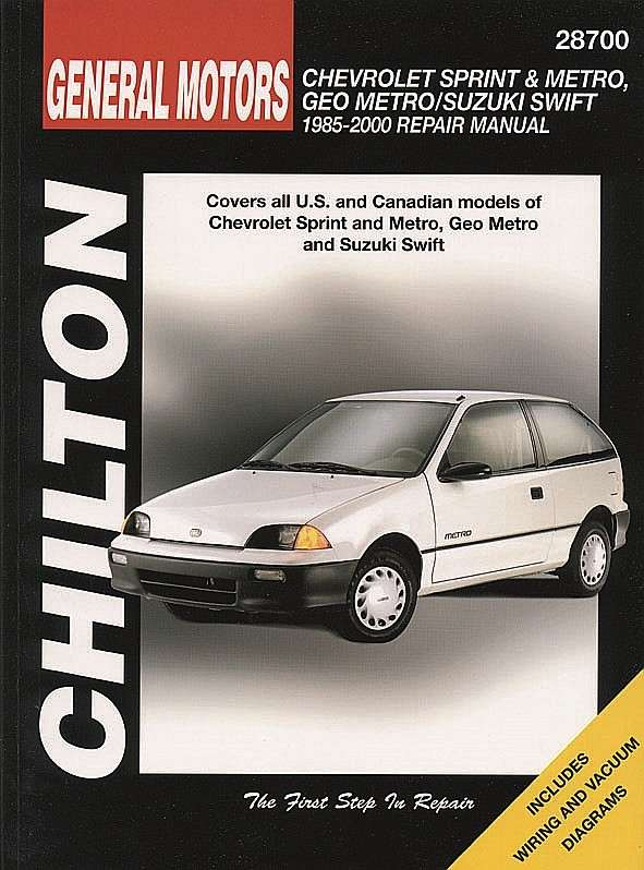 CHILTON BOOK COMPANY - Repair Manual - CHI 28700