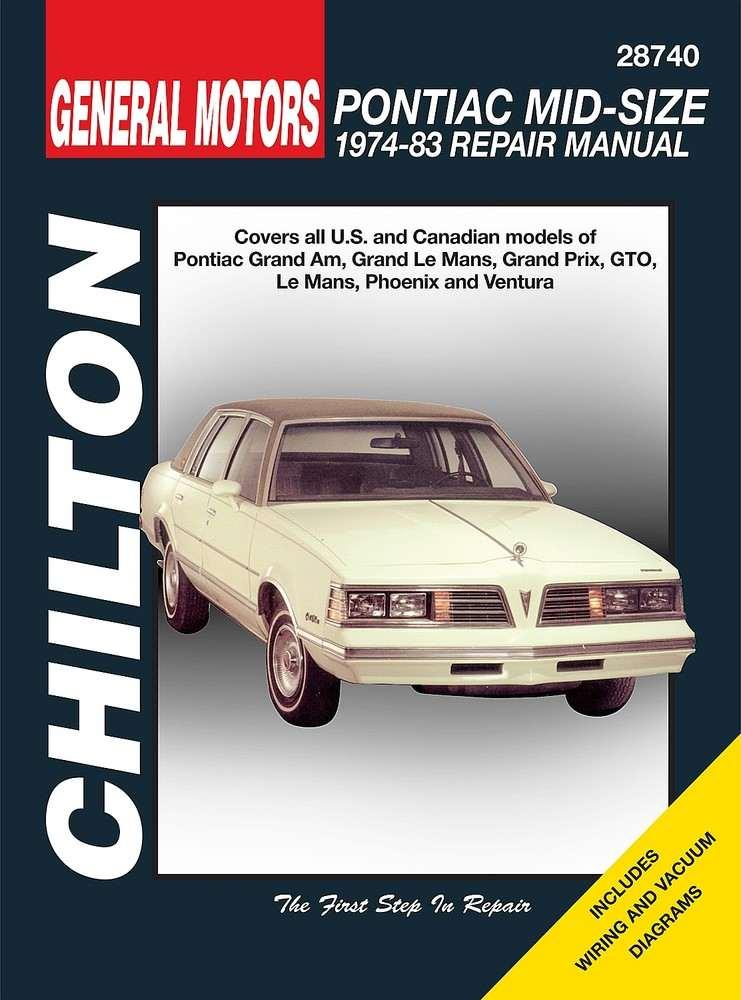 CHILTON BOOK COMPANY - Repair Manual - CHI 28740