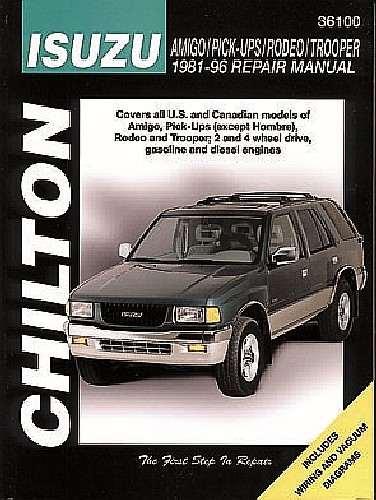 CHILTON BOOK COMPANY - Repair Manual - CHI 36100