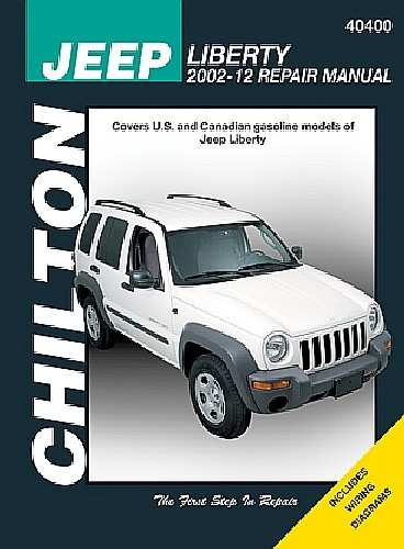 CHILTON BOOK COMPANY - Repair Manual - CHI 40400
