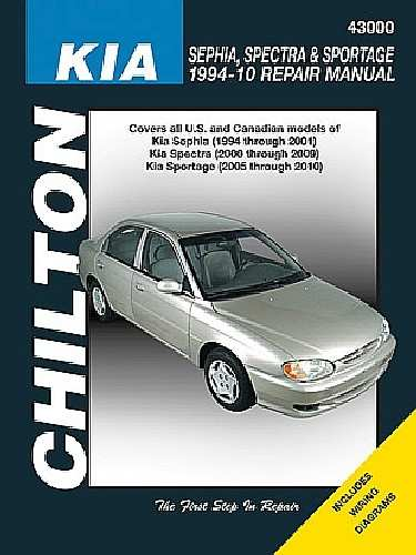 CHILTON BOOK COMPANY - Repair Manual - CHI 43000