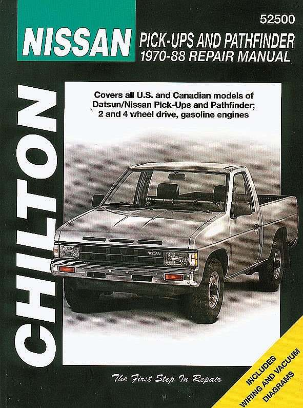 CHILTON BOOK COMPANY - Repair Manual - CHI 52500