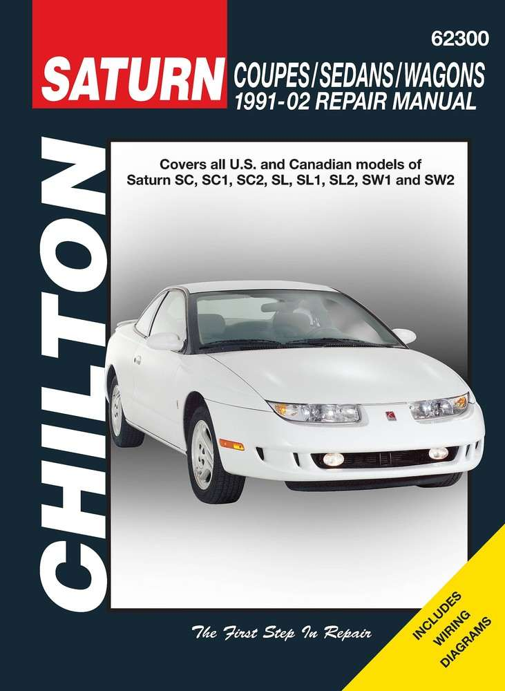 CHILTON BOOK COMPANY - Repair Manual - CHI 62300
