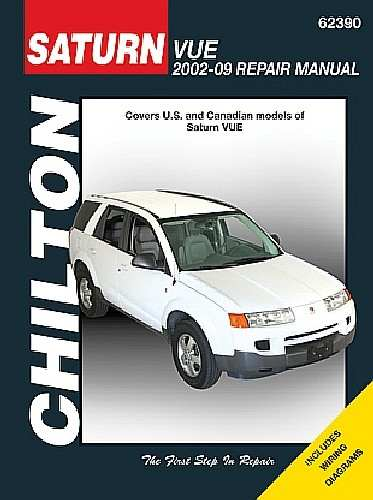 CHILTON BOOK COMPANY - Repair Manual - CHI 62390