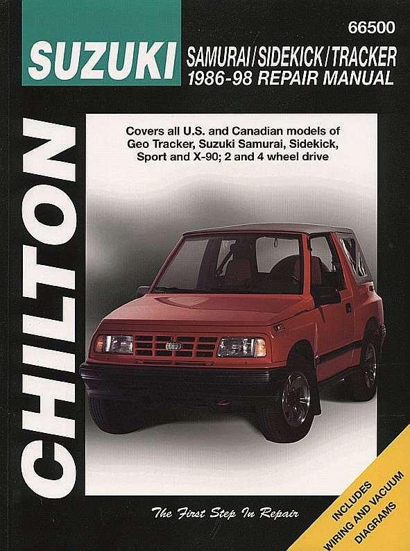 CHILTON BOOK COMPANY - Repair Manual - CHI 66500