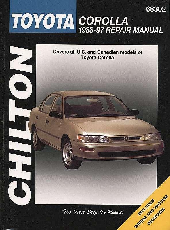 CHILTON BOOK COMPANY - Repair Manual - CHI 68302