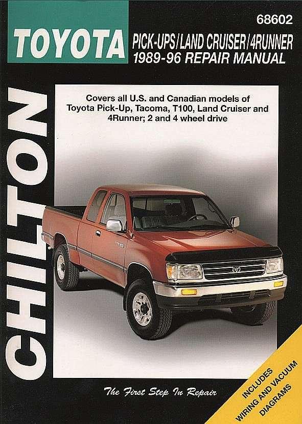 CHILTON BOOK COMPANY - Repair Manual - CHI 68602