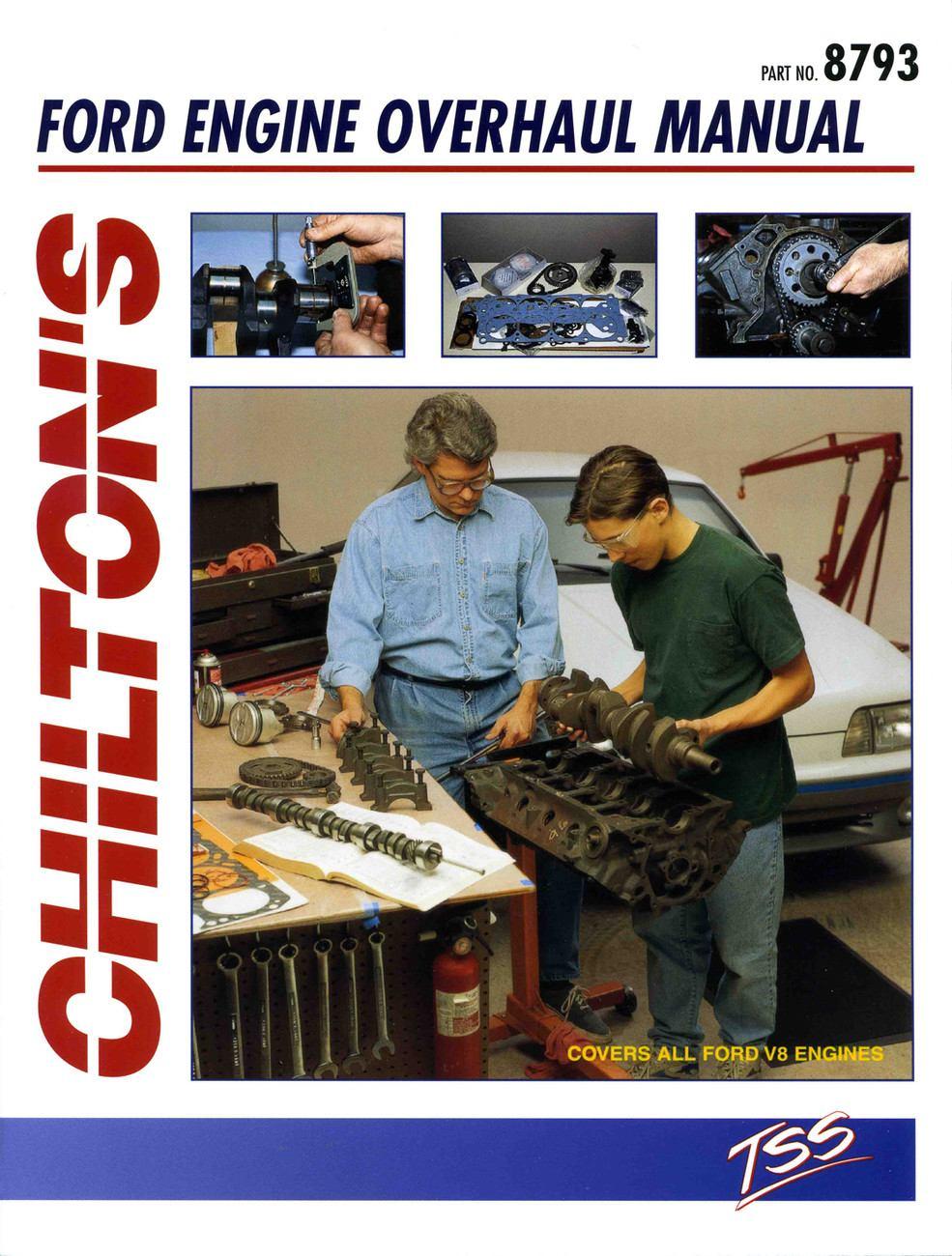 CHILTON BOOK COMPANY - Total Service Repair Manual - CHI 8793