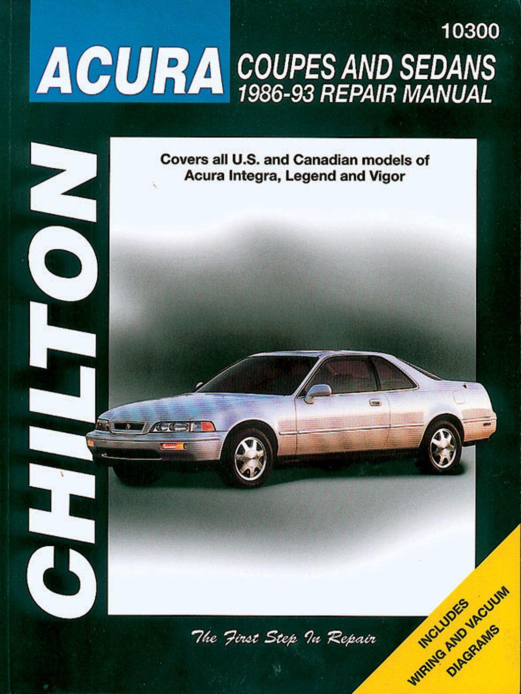 CHILTON BOOK COMPANY - Repair Manual - CHI 10300