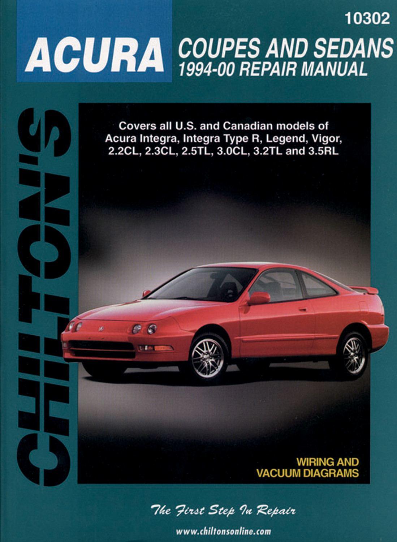 CHILTON BOOK COMPANY - Repair Manual - CHI 10302