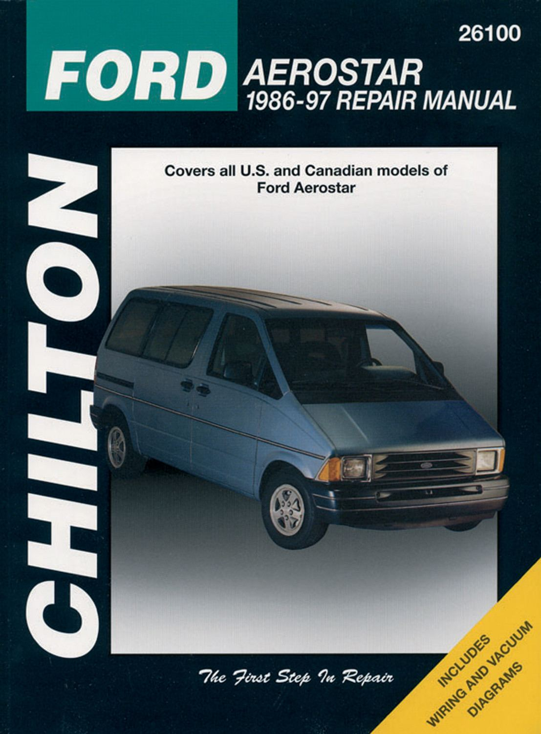 Chilton Book Company Aerostar 85 90 26100 1990 Ford Engine Diagram List Price