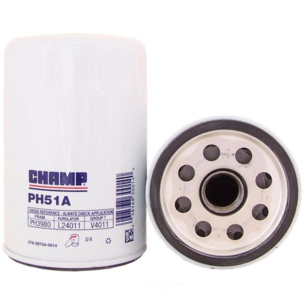 CHAMPION LABORATORIES INC. - Engine Oil Filter - CHP PH51A