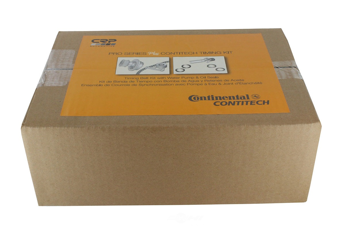 CRP/CONTITECH (INCHES) - Engine Timing Belt Kit w/Water Pump & Seals - CPE PP279-280LK1