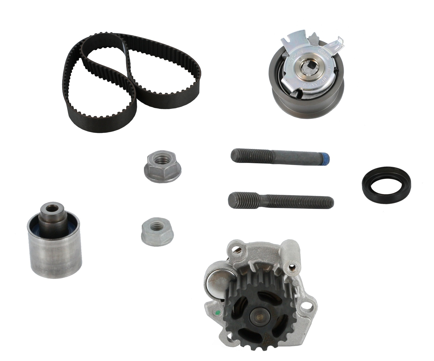 CRP/CONTITECH (INCHES) - Engine Timing Belt Kit with Water Pump - CPE PP333LK1