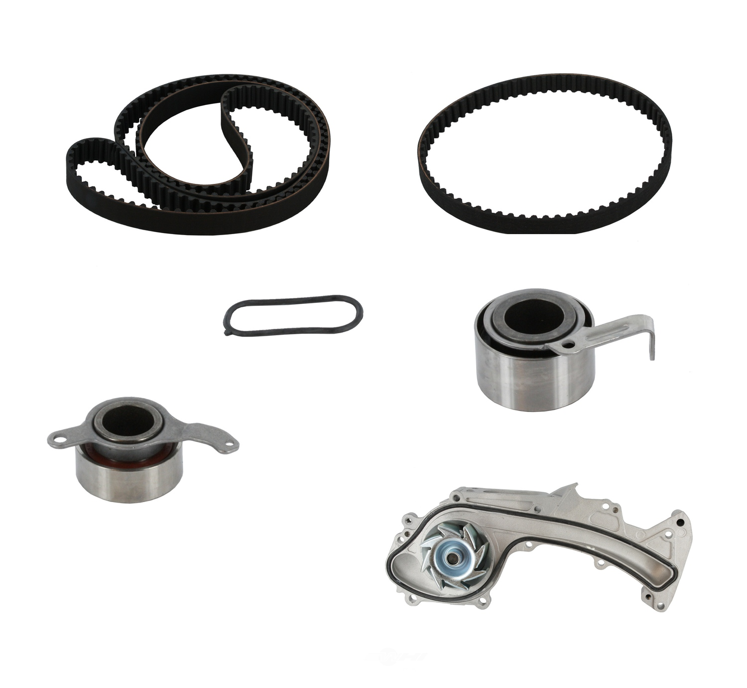 CRP/CONTITECH (INCHES) - Engine Timing Belt Kit w/Water Pump - CPE TB279-280LK1