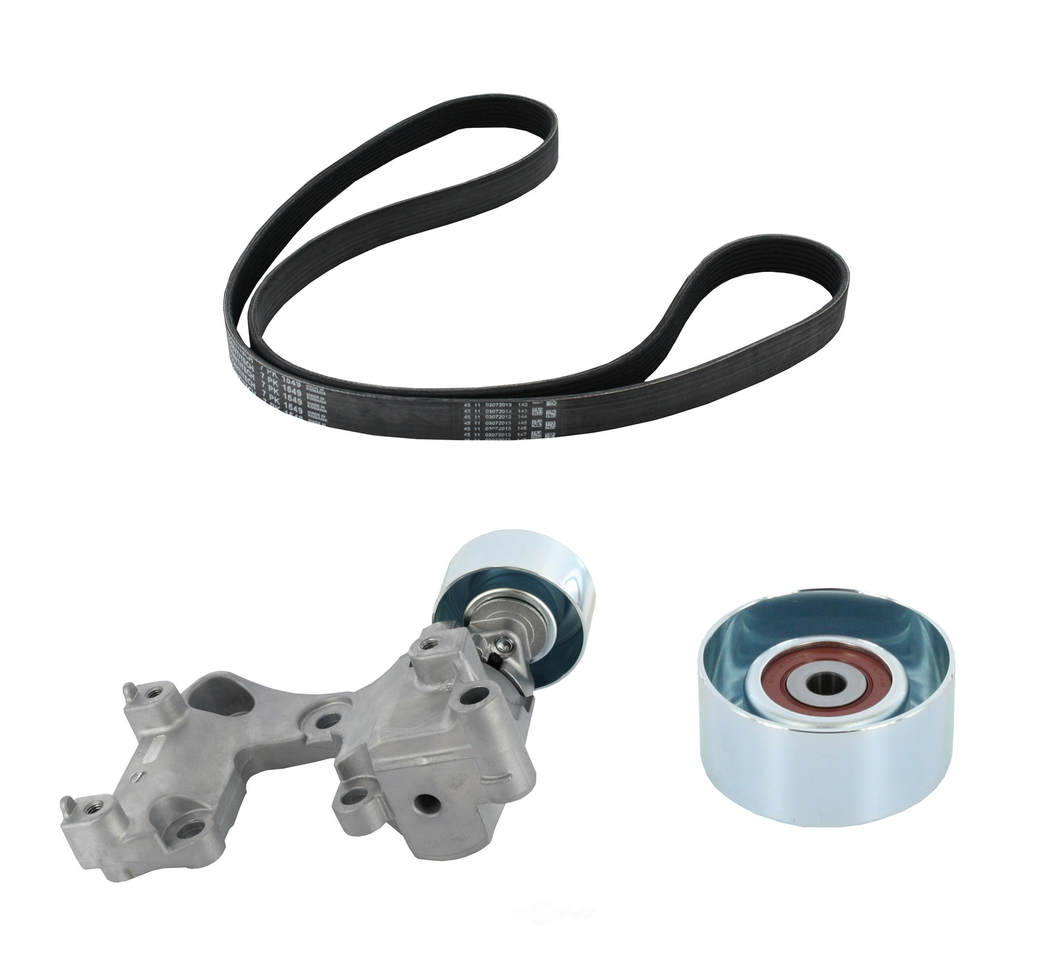 CRP/CONTITECH (METRIC-IMPORT) - Accessory Drive Belt Kit - CPF ADK0017P