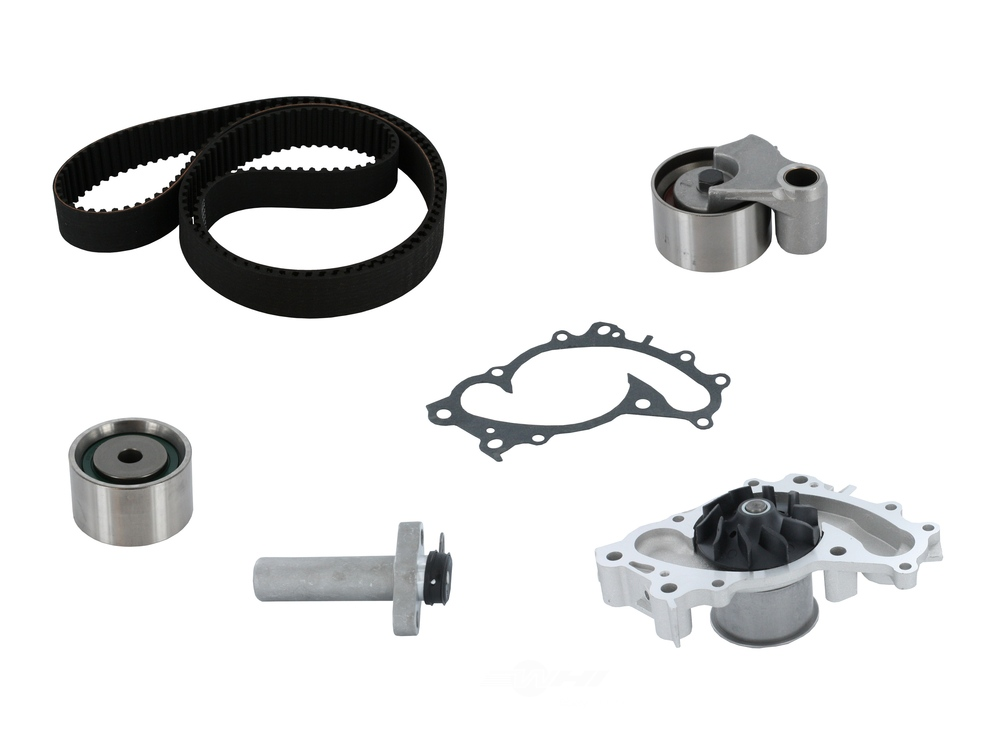 CRP/CONTITECH (METRIC-IMPORT) - Engine Timing Belt Kit with Water Pump - CPF CK257LK1