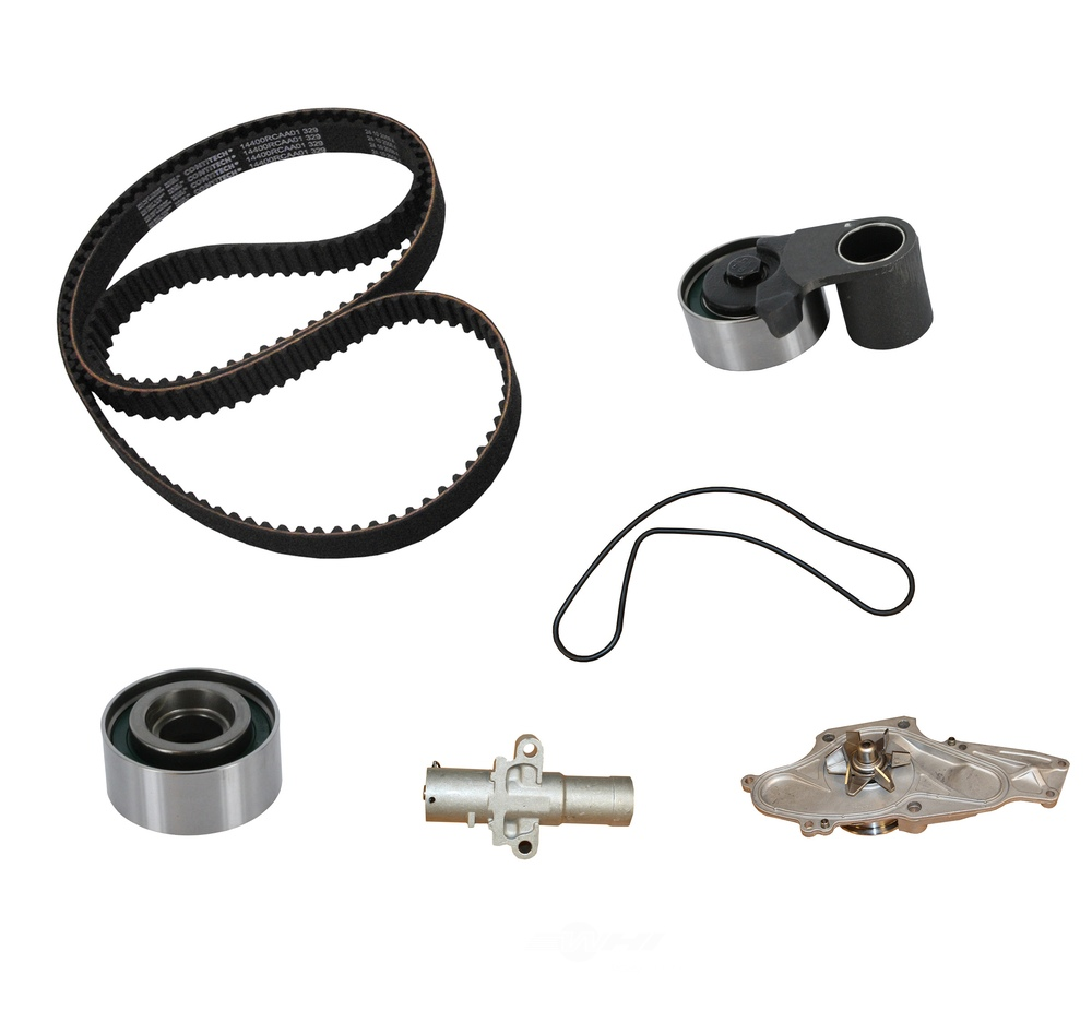 CRP\/CONTITECH (METRIC) - Engine Timing Belt Kit w\/Water Pump - CPF CK329LK1