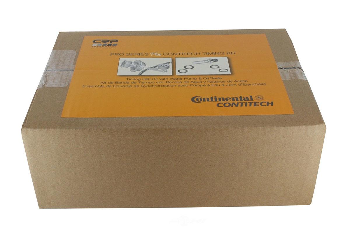 CRP/CONTITECH (METRIC) - Engine Timing Belt Kit w/Water Pump & Seals - CPF PP279-280LK1