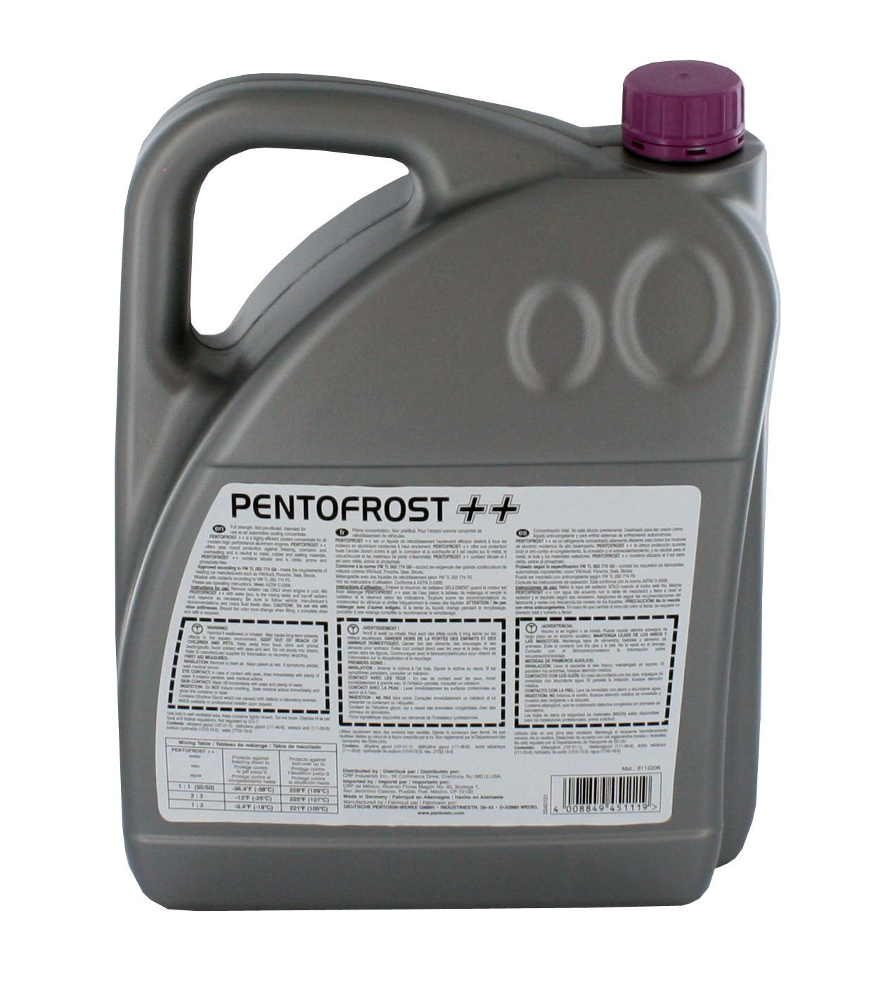 CRP/PENTOSIN - Engine Coolant / Antifreeze - CPG 8112206