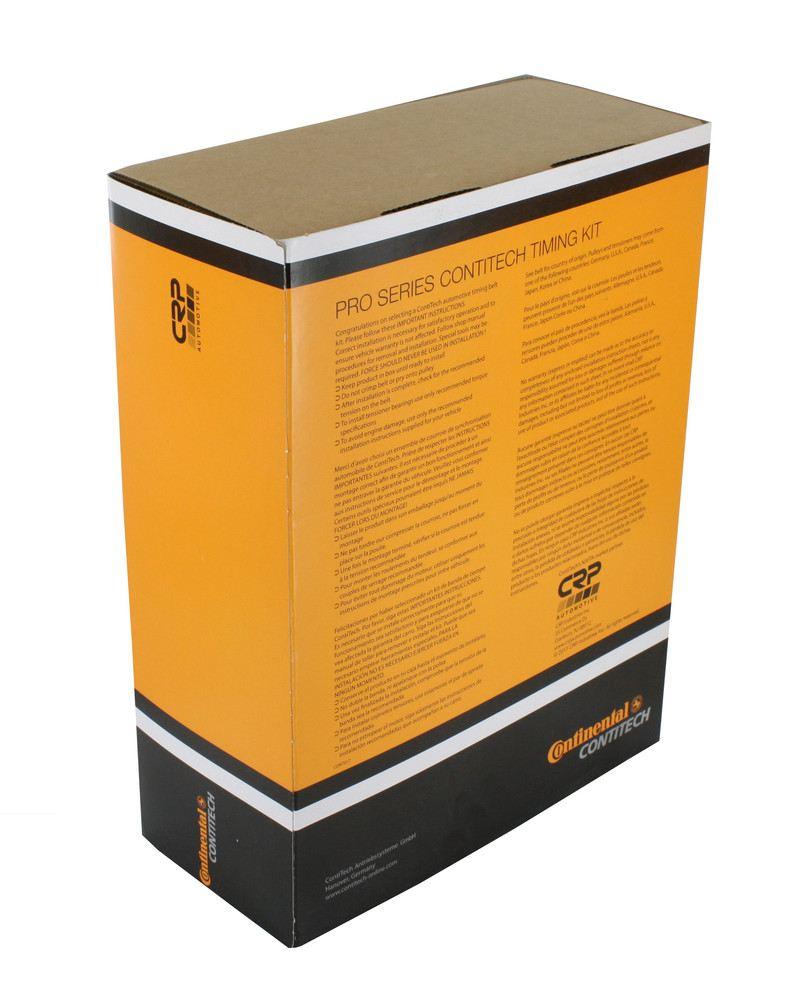 CRP/CONTITECH (METRIC-FULL) - Engine Timing Belt Kit w/Water Pump - CPJ TB184LK1