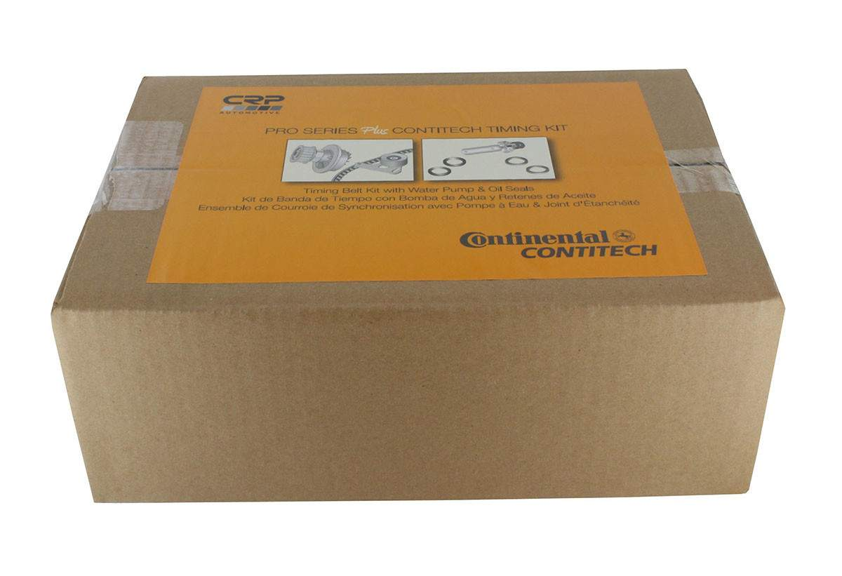 CRP\/CONTITECH (METRIC-FULL) - Engine Timing Belt Kit w\/Water Pump & Seals - CPJ PP193LK1