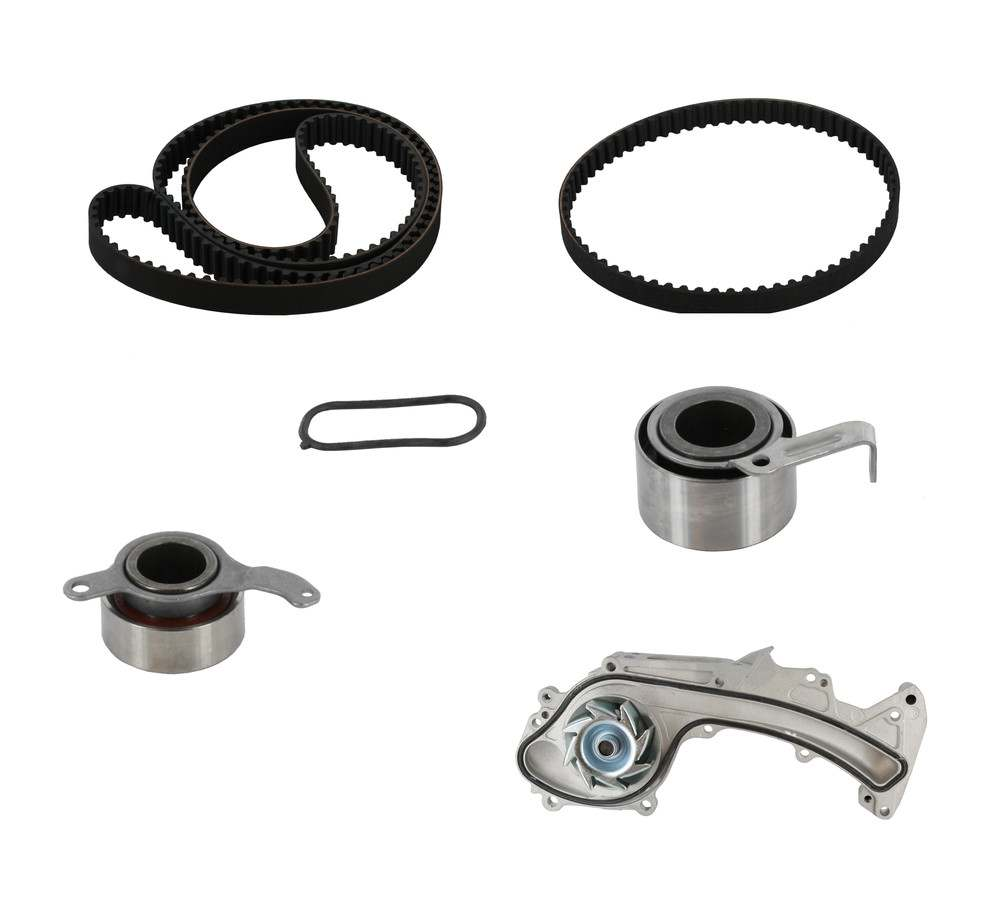 CRP/CONTITECH (METRIC-FULL) - Engine Timing Belt Kit w/Water Pump - CPJ TB279-280LK1