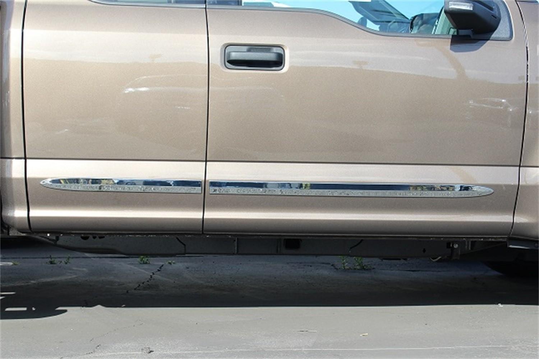 CARRICHS ACCESSORIES - Custom Fit Bodyside Molding Replacements - CRH BSCH605